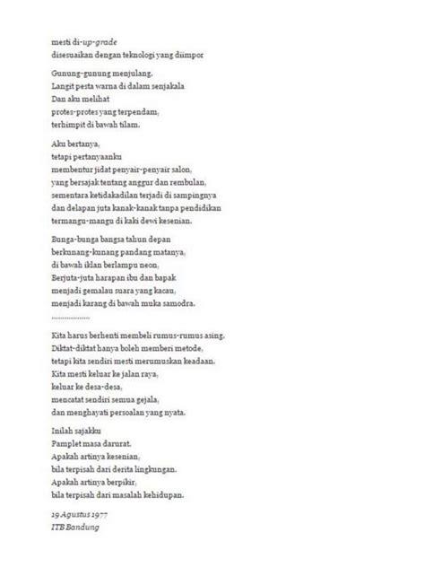 membuat puisi dengan tema lingkungan puisi tema perjuangan wajib dibaca di hari kebangkitan