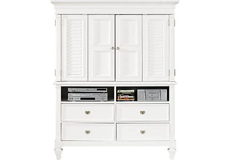 mason media armoire shop for a belmar white media armoire at rooms to go find armoires that will look