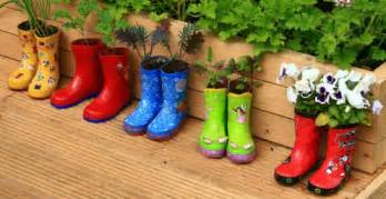 Best Landscaping Boots by 50 Recycled Container Gardening Ideas Hubpages