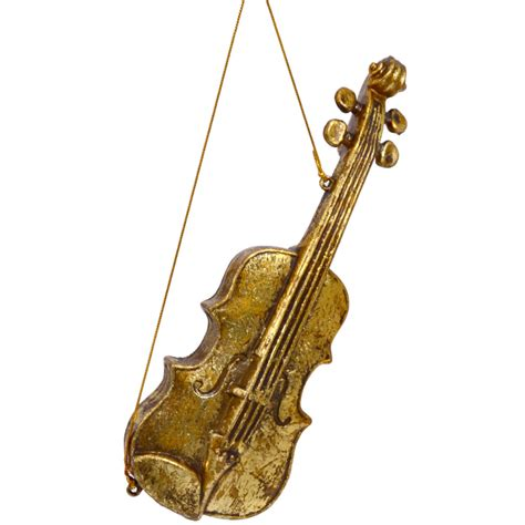 musical instrument ornament set gold instrument ornaments set of 3 xy356938