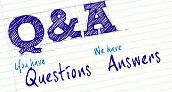 questions comments anglihel