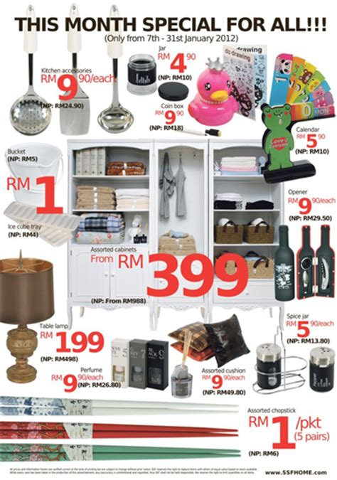 ssf monthly offer home furniture sale in malaysia