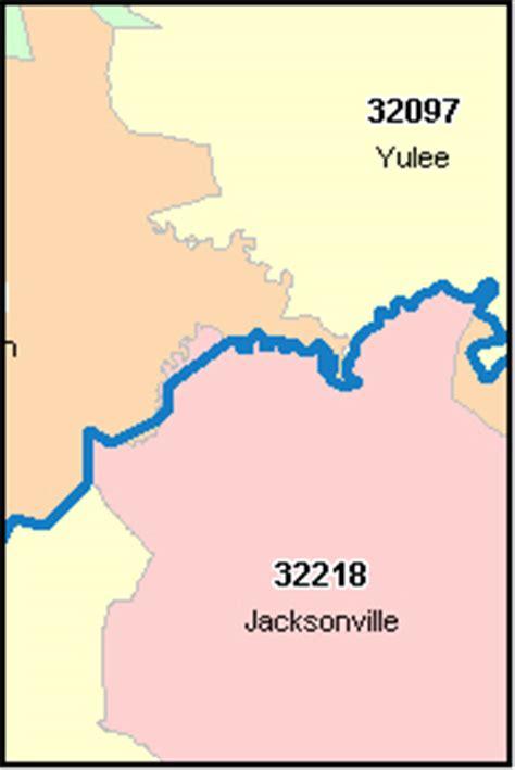 Nassau County Address Search Nassau County Florida Digital Zip Code Map