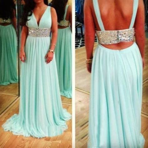 Sweety Lace Dress Blue 18 Lovely 2015 handmade lovely pink floor length chiffon prom