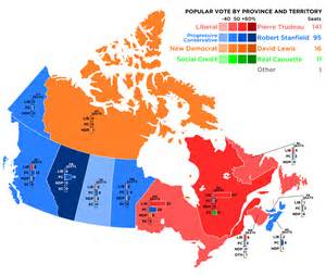 electoral map of canada canada federal election results map