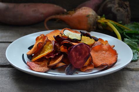 root vegetable chips recipe baked root vegetable chips dinner with aura