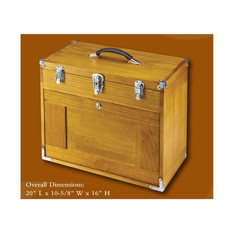 box with drawers wood wood tool chest w 8 wood tool drawers