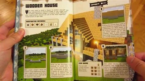 How To Make A Book Out Of Construction Paper - minecraft construction book page by page every page