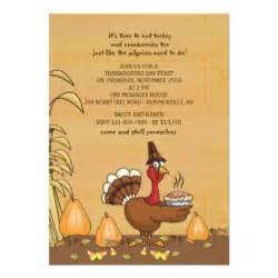 thanksgiving dinner invitation wording sles thanksgiving invitations zazzle