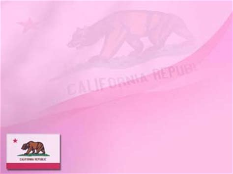 indezine free powerpoint templates california flag 01 powerpoint templates
