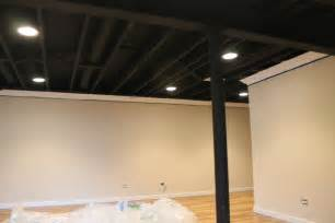 decorations warehouse space with black ceiling hc