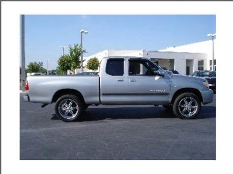 Toyota Tundra Sr5 For Sale Toyota Tundra Sr5 V8 2002 Used For Sale