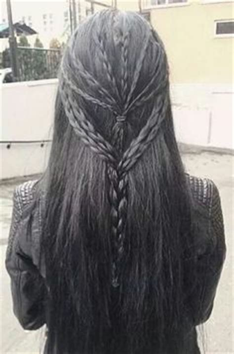 gothc viking hairstyle viking hairstyle with braids and beads really cool