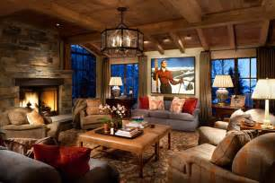 Ordinaire Deco Style Chalet Moderne #6: sejour-convivial-decoration-style-rustique.jpg