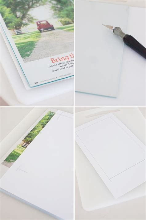 How To Make Your Own Matting For Picture Frames by Diy Project How To Mat And Frame Any Photo The Lettered