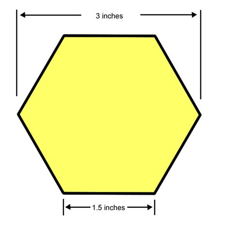 3 inch hexagon template new 3 inch hexagon template free template design