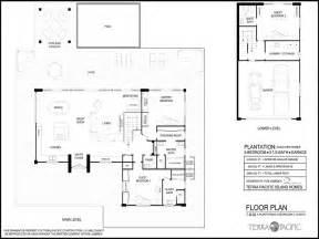 hawaiian floor plans hawaiian houses hawaiian plantation style home floor plans