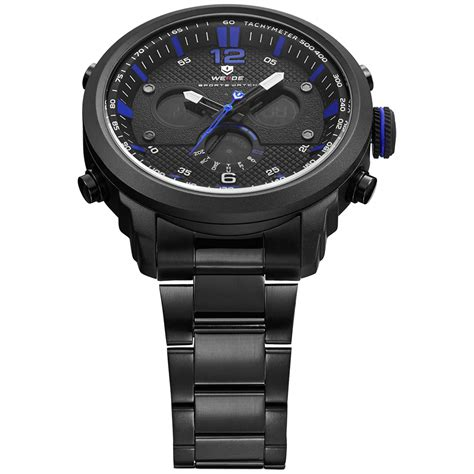 Jam Tangan Ripcurl Chrono Stainless weide jam tangan analog stainless steel wh6303 black blue jakartanotebook