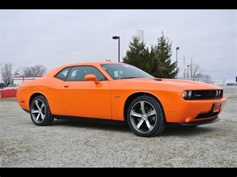 2014 dodge challenger r/t orange for sale dealer dayton