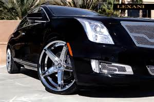 Cadillac Aftermarket Wheels Lexani R04 Chrome On Cadillac Xts Wheels