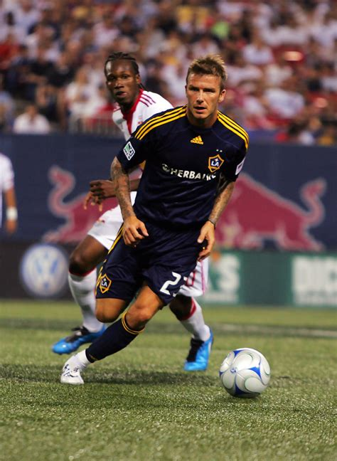 New Beckham 2526 9 david beckham in los angeles galaxy v new york bulls zimbio