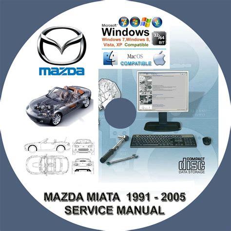 service and repair manuals 2005 mazda mx 5 transmission control mazda miata mx5 1991 2005 service repair manual on cd mx 5 www servicemanualforsale com