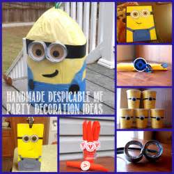minion birthday decorations despicable me birthday autry creations