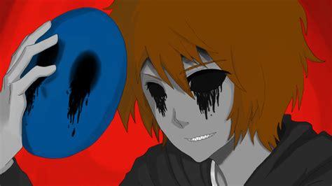 imagenes de eyeless jack anime archivo eyeless jack smile for the camera by