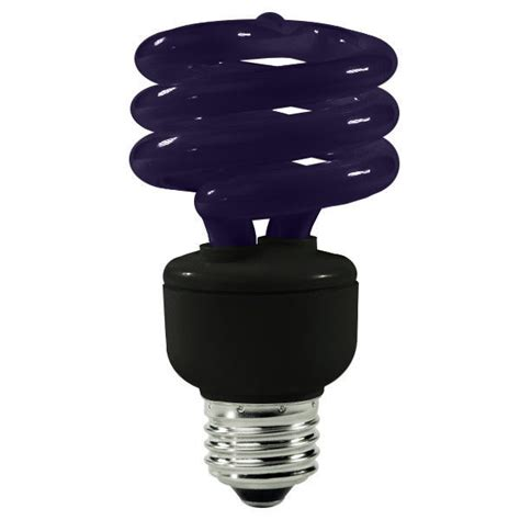 Black Light Bulbs by Halco 109270 15 Watt Black Light Cfl