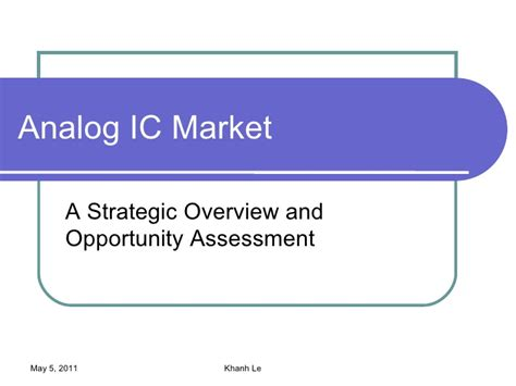 analog integrated circuit market analog ic market and opportunity