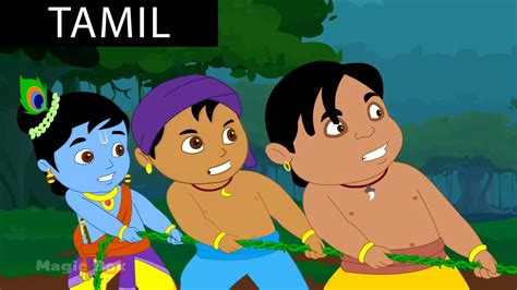 tamil cartoon film youtube pralamb krishna vs demons in tamil animated cartoon