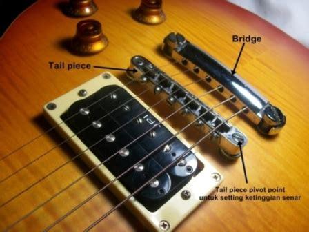 Penyangga Senar Gitar bedah gitar electric guitar bridge 171 musik or id
