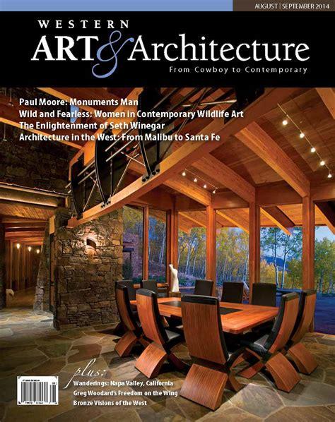 artist studio marin county architect magazine western arts architecture magazine