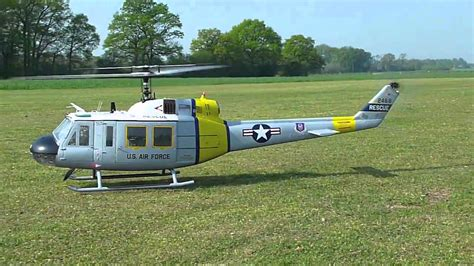 Bell Vario turbine helicopter bell uh 1d vario mit jetcat