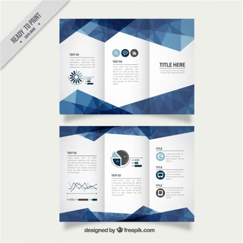 graphic design leaflet vector brochure vectors photos and psd files free download
