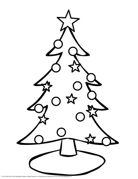 christmas tree coloring pictures www bloomscenter com