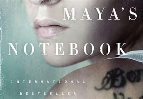 mayas notebook allende finds inspiration for novel close to home