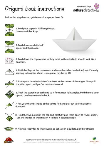 how much to register a boat make your own origami boat by naturedetectives teaching