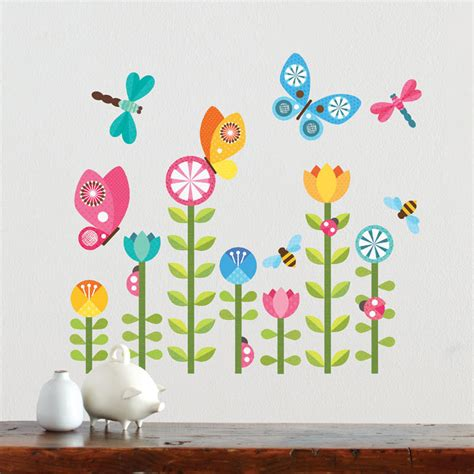 fabric wall stickers butterflies fabric wall decal by petit collage