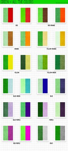 what colors look good with green art techniques and instructions painting drawing tutorials