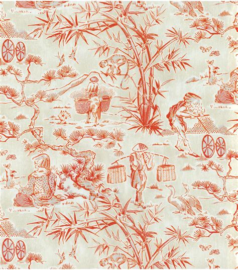 toile upholstery fabric upholstery fabric waverly haiku toile lantern jo ann