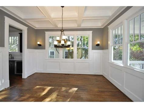 dining room with chair rail dining room chair rail home remodel pinterest