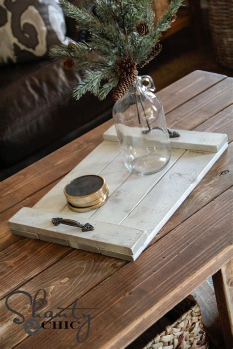 diy serving tray diy 8 wood tray shanty 2 chic