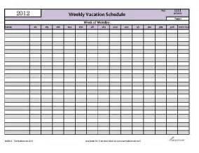 vacation schedule template vacation schedule template excel schedule template free