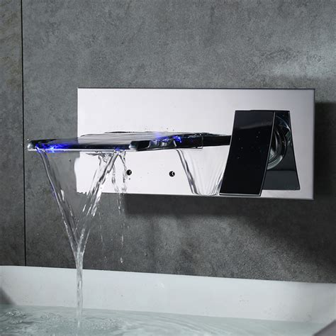 Robinet Salle De Bain Led by Homelody Robinet Cascade Led Salle De Bains Robinet