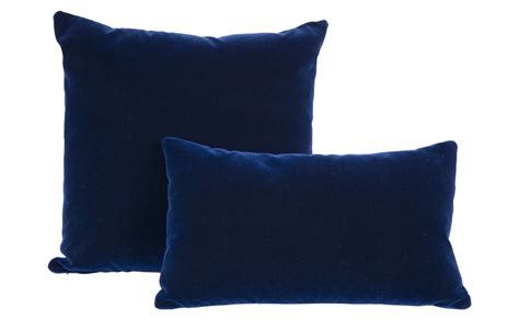 Navy Pillows navy mohair pillows jayson home