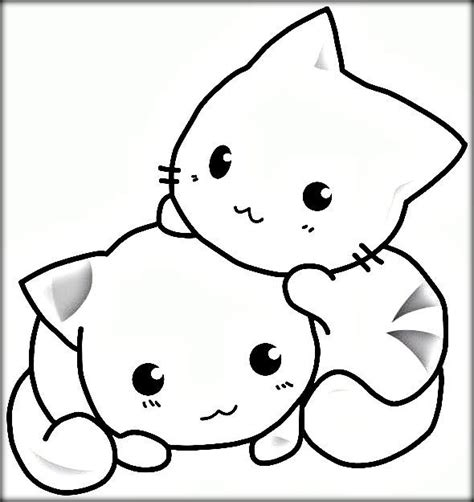 two cats coloring pages realistic cat coloring pages to print color zini