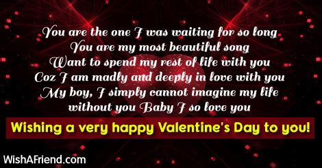 valentines message for a boyfriend you are the one i was s day messages for boyfriend
