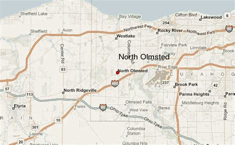 north olmsted location guide
