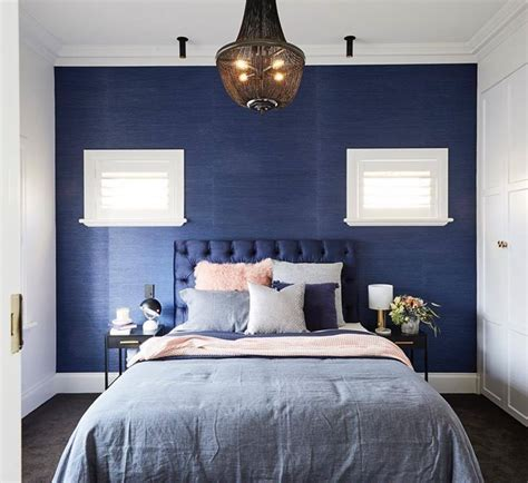 midnight blue bedroom ideas  pinterest blue